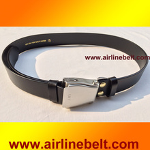 Unique design airplane aircraft buckle seat belt fasion jeans belt men strap male outdoor wearing pants accessory free shipping(China)