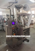 Small sachet powder vertical packing machine pump