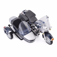 Maisto 1:18 2001 FLHRC Road King Classic Sidecar Diecast Motorcycle Model Toy New in Box