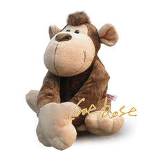 Free shipping 30cm=11.8'' Original Nici Jungle Brothers Monkey Stuffed animals Plush Soft Toy for baby gift