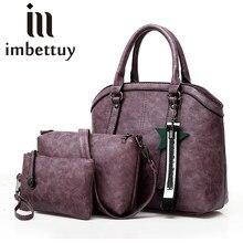 9624f0d32f74 3pecs фиолетовый сумочка Для женщин Большой сумка звезда кисточкой плеча  Курьерские сумки женский маленький клатч Сумки