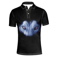 FORUDESIGNS Tommis Polo Shirt Mens Cool Animal Wholesale Tops Tees Male Funny Cute Polo shirts Casual Party Shirts Loose Fit