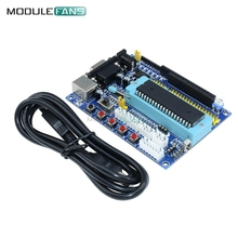 DC 12V PIC16F877A PIC Minimum System Development Board Emulator JTAG ICSP Program Minimum System Microcontroller Module