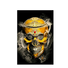 ANGEL'S HAND skull tattoos gif art 5D diamond embroidery diy diamond Painting pictures diamond mosaic gift diamond picture home