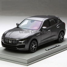 * Gray BBR Resin Model Car for 1:18 Maserati Levante Luxury SUV Resin Toys Gifts Collection Minicar