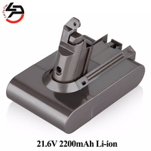 Replacement Vacuum Cleaner Battery for Dyson DC58 DC59 DC61 DC62 Animal V6 965874-02 Li-ion 21.6V 2.2Ah Rechargeable(China)