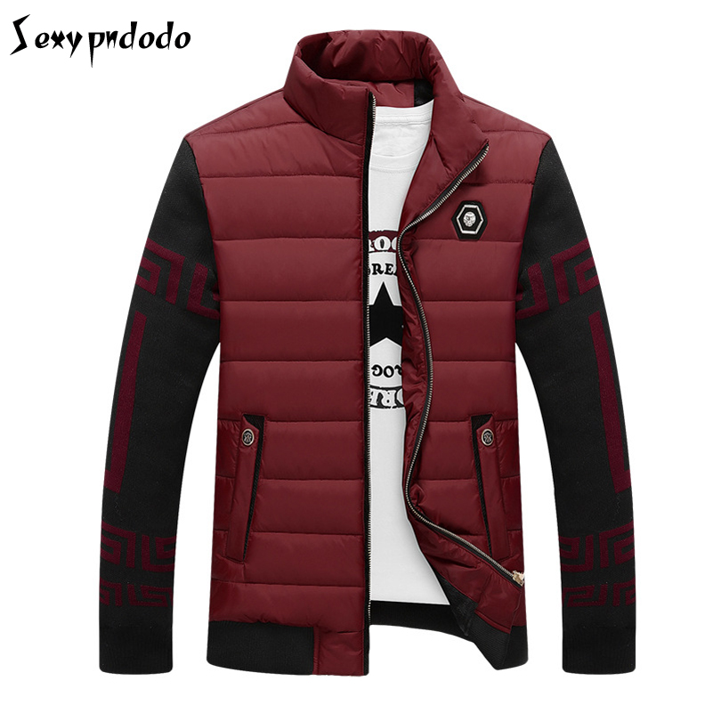napapijri Jacket Parka Men Sudaderas Hombre 2016Casual Warm Thick Patchwork Coat abrigos hombres invierno Water Proof Jacket 3XL