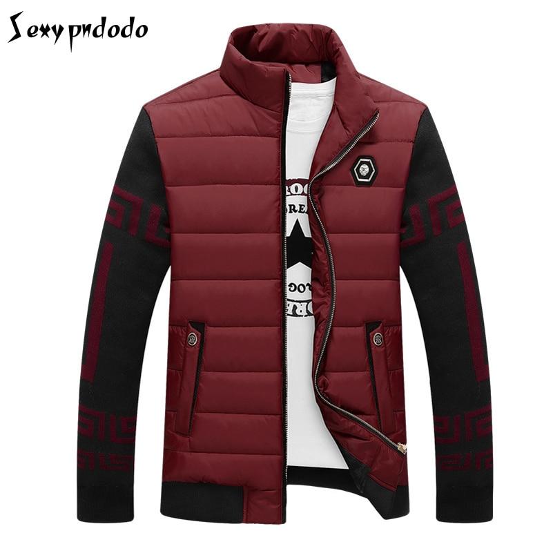 napapijri Jacket Parka Men Sudaderas Hombre 2016Casual Warm Thick Patchwork Coat abrigos hombres invierno Water Proof Jacket 3XL