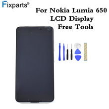 "100% Tested For 5.0"" Microsoft Nokia Lumia 650 LCD Display +Touch panel Digitizer Sensor Assembly With Frame Replacement(China)"