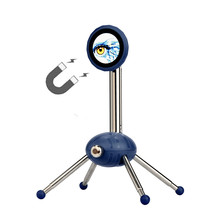 2017 Best Sale 360 degree rotation Magnetic Tripod Mobile Phone Stand Extendable legs Stand For Samsung For iPhone phone stand