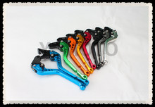 8 Colors Motorcycle Short Brake Clutch Levers For Honda CB 599 919 400 CB600 HORNET CBR 600 F2 F3 F4 F4i 900RR VTX1300 NC700 S/X