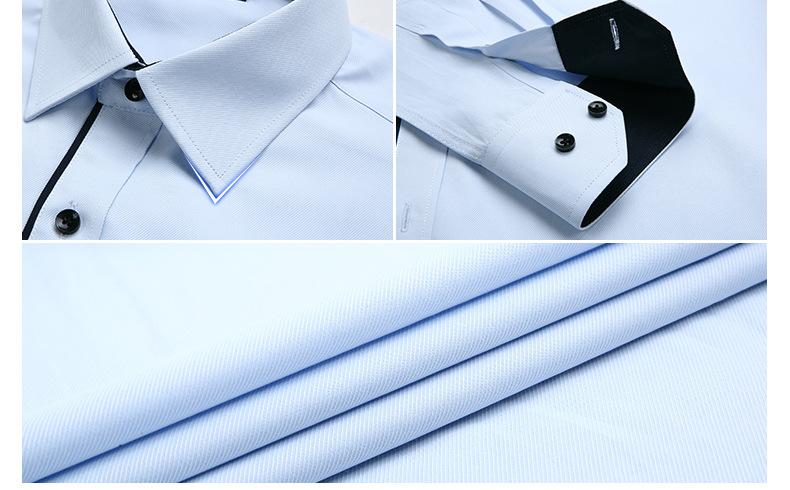 Dudalina Camisa Male Shirts Long Sleeve Men Shirt Brand Clothing Casual Slim Fit Camisa Social Striped Masculina Chemise Homme 9