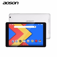 Brand Aoson Ultra thin 10.1 inch R102 16GB 1GB Android 6.0 Quad Core Tablet PC High Resolution IPS Screen Bluetooth WIFI GPS(China)