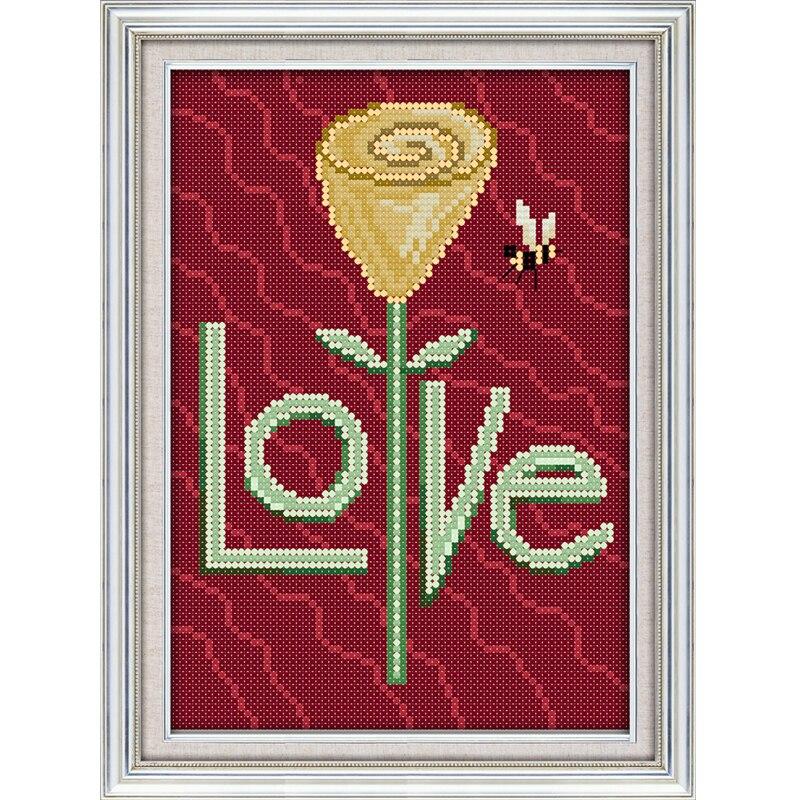 Любовь и вера вышивка 149