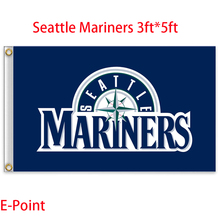 Seattle Mariners USA Major League Baseball ( MLB ) Flag 3ft*5ft