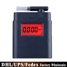 Free DHL Fedex 50pcs/lot Digital Breath Alcohol Tester Backlight Breathalyzer Driving Essentials Police Parking Gadget(China)