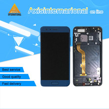 "Original Axisinternational 5.15"" Huawei Honor 9 STF-L09 STF-AL10 STF-AL0 LCD screen display+touch digitizer frame"
