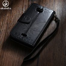 Buy AKABEILA Embossed Wallet Phone Cases Covers Huawei Honor Bee Y541 Y5C Y541-U02 Max Maple Leaf PU Leather Back Cover Case for $4.70 in AliExpress store