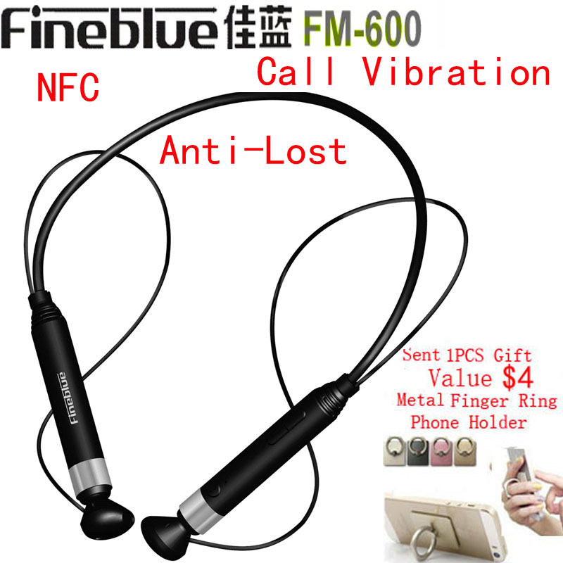 Newest Fineblue FM-600 NFC Magnetic Bluetooth Headphones Wireless Stereo Anti-Lost Headset Call Vibration Sport Running Earphone<br><br>Aliexpress