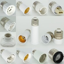 G4 Lamp Holder E27 to E12 Double E21/ Fc2 to B22 G9 MR16 G13 G5.3 E17 to E40 G24 Lamp Socket Base Bulb Holder Adapter Converter