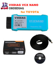 VXDIAG VCX NANO for TOYOTA TIS Techstream V12.00.127 Compatible with SAE J2534 WIFI or USB Version(China)