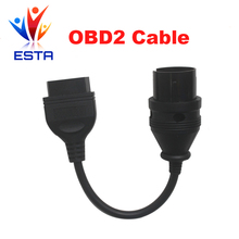 for Mereceds Bzen 38 pin to 16 Pin Adapter Cable for benz obd1 to obd2 Connector cable