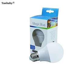 Tanbaby 4.5W Magic blue Bluetooth Smartphone control multicolor Dimmable LED Light Bulb  iPhone Apple Watch Android 4.0 Tablet