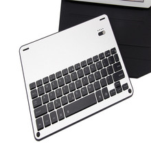 Newest For iPad Pro 10.5 2017 Backlight Bluetooth Aluminum Keyboard+Leather Stand Case   H5T4