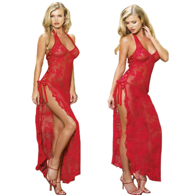 Baby Doll Women Costumes Ladies Erotic Lace Lingerie Sexy Nightdress Robe Suspenders Shawl Princess Pajamas Nightgown Homewear