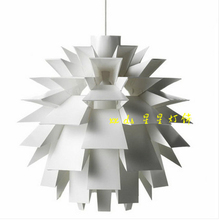 White pinecone novel PVC Modern Dining Led Pendant Lamp for living room Restaurant Art designs Dining lamp Individual lamps(China)