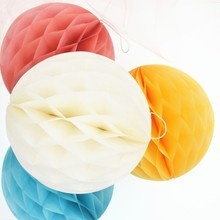 "Paper Honeycomb Balls Lanterns Wedding Decoration Festival Baby Shower Party Decoration Supplier  Mix Size 6"" 8"" 10"""