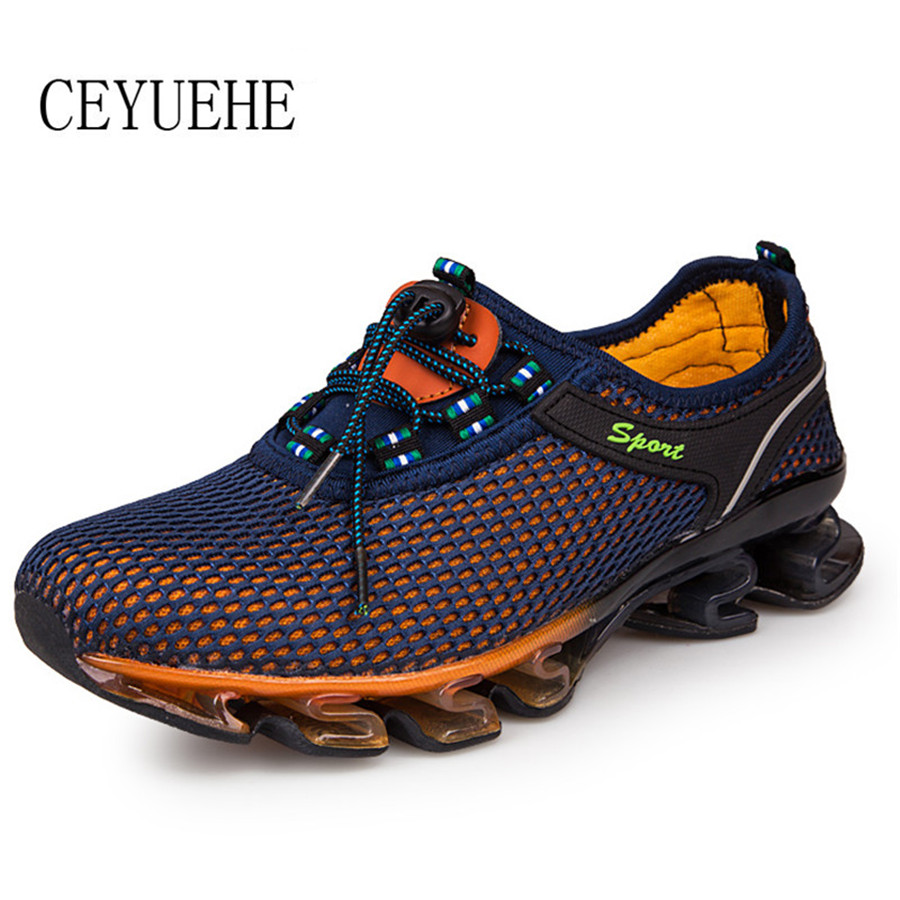 Men Summer Mesh Breathable Shoes Casual Sport Superstar Masculina Sapatos Walking Licht Schoenen Elastic Band Zapatillas Hombre<br><br>Aliexpress