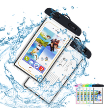 Waterproof Case Universal Underwater for iPhone 6 6s 7 plus 5 SE S7 S6 S5 Pouch Phone Coque Covers Case Sealed Waterproof case