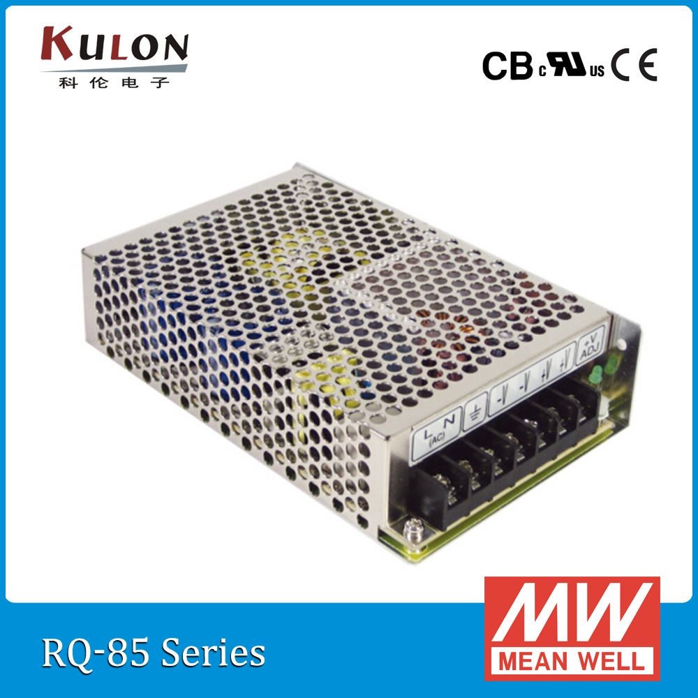 Original Mean Well RQ-85B 85W Quad output 5V/12V/-5V/-12V Meanwell Power Supply<br>