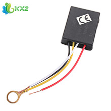 2pcs! Desk Light Touch Lamp 3 Way Control Sensor Switch Dimmer For Bulbs AC 220V 3A(China)