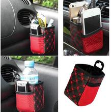 New Qualified 1PC Auto Car Accessory Hanging Bag Drinks Phones Storage Pouch Holders  Levert Dropship dig638