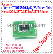 Printer Parts For Xerox CT202105 CT202106 CT202107 CT202108 Cartridge Chip,For Xerox 2275 3371 3373 3375 4470 4475 Toner Chip(China)