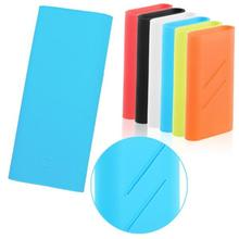 Silicone Power Bank Case Cover 100% Fit For Xiaomi Power Bank 16000 mAh External Battery Protective skin rubber case