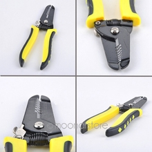 Wire Stripper Cable Stripping Pliers Multi-Function Stripper Carbon Steel Cutting Plier Copper Cutting Tool