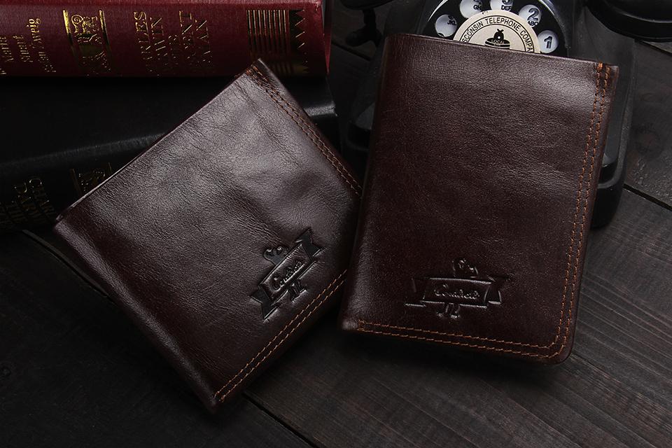 محفظة جلد للرجال عالية الجودة 1