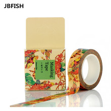 Colorful Butterfly Washi Paper Tape Design Tape Decor DIY Sticker Scrapbook Sticky Office Adhesive Tape Japanese Design 3039