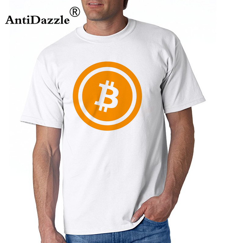 Bitcoin T-Shirt Homme Summer Fitness Blouse Brand Clothing Cotton Short Sleeve Man TShirt O-Neck Hiphop Funny Tees Shirts Men