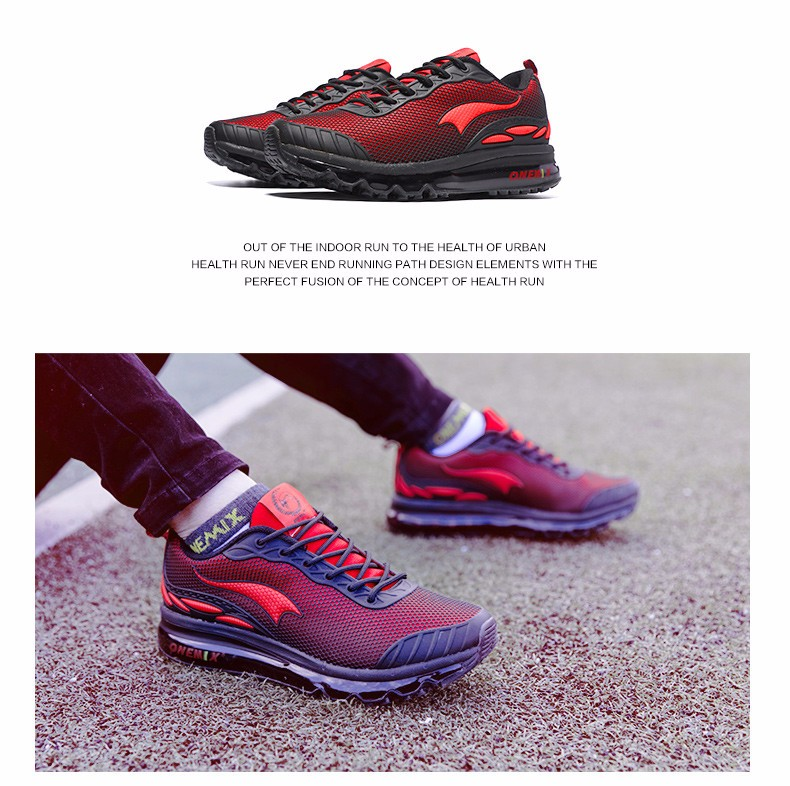 Original Quality onemix Air Jogging Shock Absorbers Sneaker For Men Track Chaussure Sport Breathable Running Shoes Free Trainers 3
