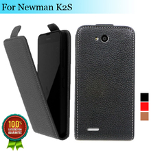 Factory price , Top quality new style flip PU leather case open up and down for Newman K2S, gift