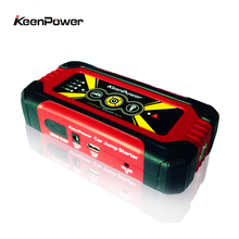 Car Jump Starter Portable 12V Petrol Diesel Car-Stlying Starting Device Power Bank 600A Charger Car Battery With Universal Plug(China)