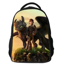 New arrival 2016 How to Train Your Dragon for kids cartoon backpack Boys cartoon school bags in stock