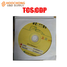 High quality 2014 R2 R3 CD/DVD software for Auto TCS scanner pro With optional choice 2014 R2 with keygen self activation(China)
