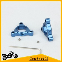 Preload Adjusters Parts Fork for For Aprilia RSV 1000 All Models with Ohlins Front Fork RSV Miller R 2003 RSVR Factory 2004 Blue