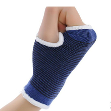 2 pieces hand belt Palm Wrist Hand Support Glove Elastic Brace Sleeve Sports Bandage Gym Wrap