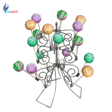 Creative Removable 3 Tier 18 Cake Pops Display Holder Lollipop Stand Base Party Wedding Christmas Decoration Metal Flower Stand